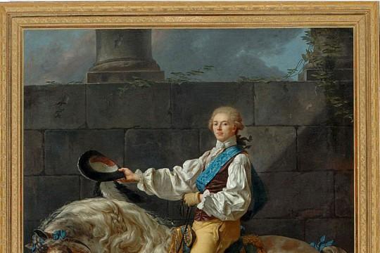 Portret konny Stanisława Kostki Potockiego
