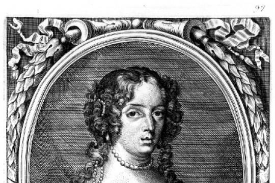 Portrait of queen Marie Casimire