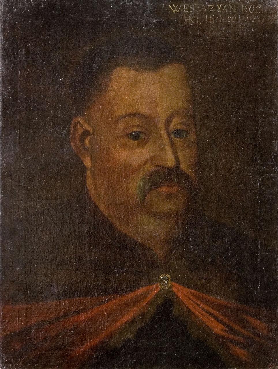 Wespazjan Kochowski_portret