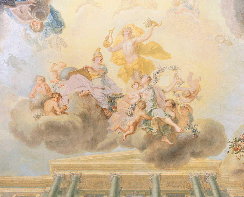 Apoteoza rozwoju nauki, sztuki i dobrobytu w czasach saskich