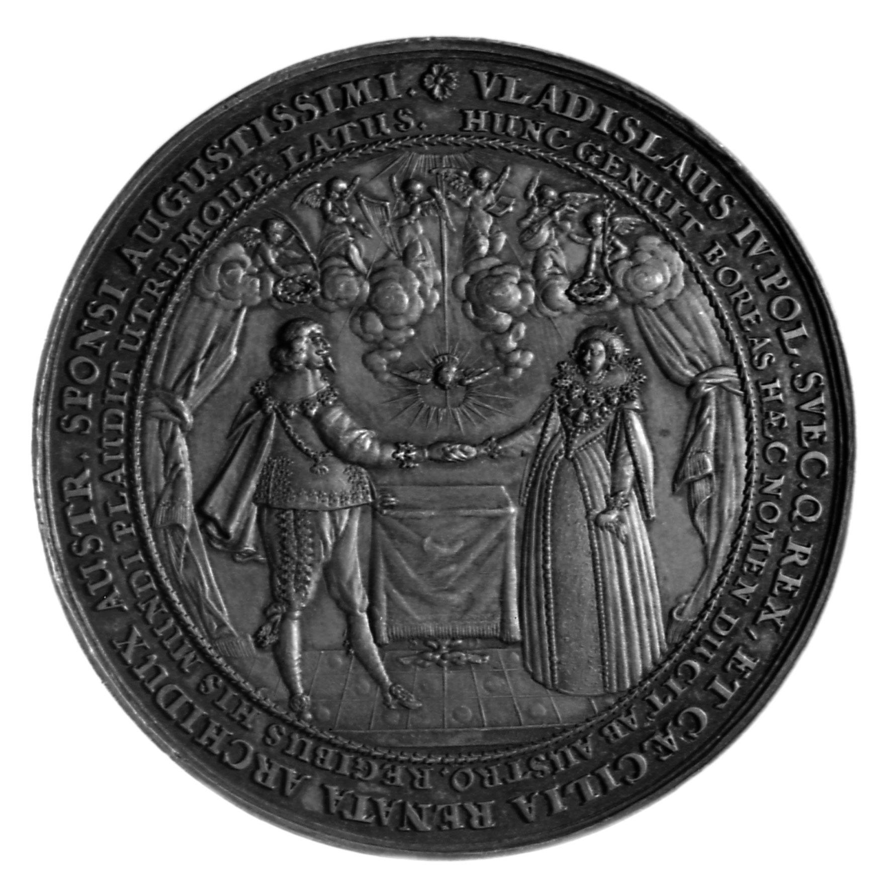 Medal ślubny Władysława IV i Cecylii Renaty_Sebastian Dadler.jpg