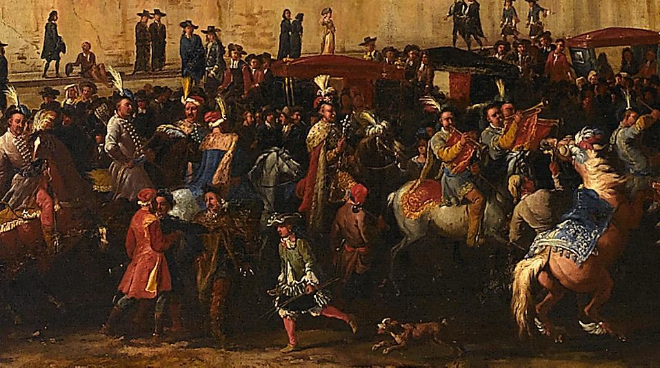 Wjazd ambasady Michała Kazimierza Radziwiłła do Rzymu w 1680 r._fragm.jpg
