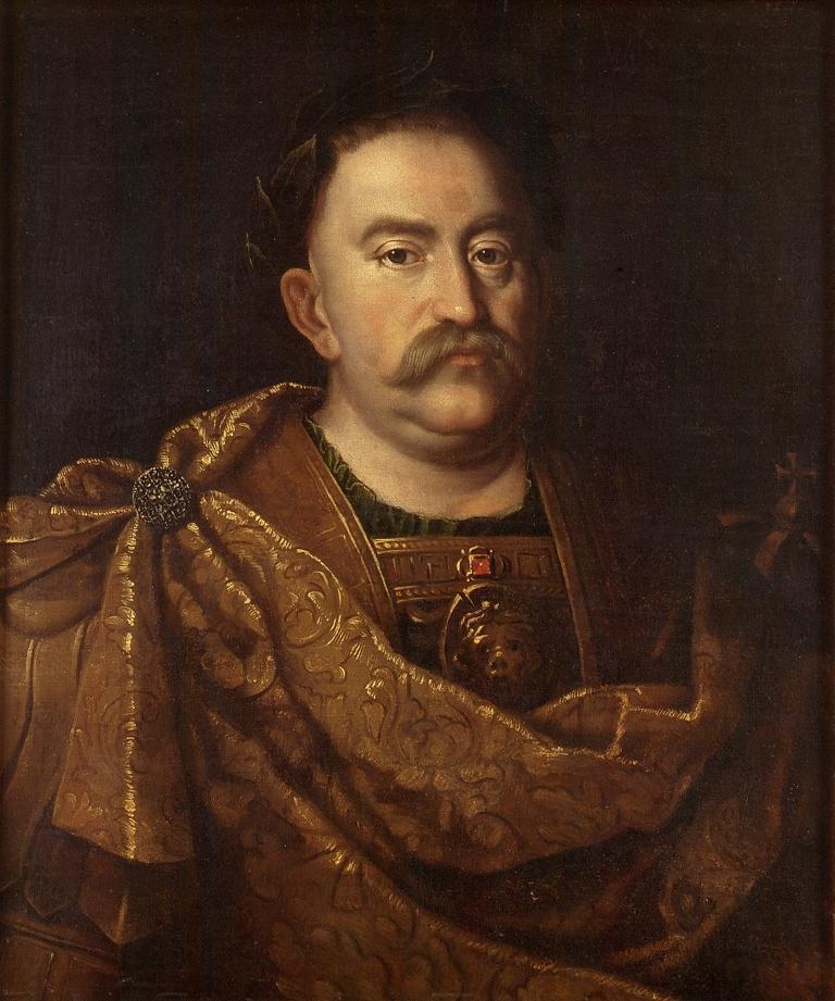 Portret króla Jana III Sobieskiego, malarz nieokreślony, 4 ćw. XVII w..jpg