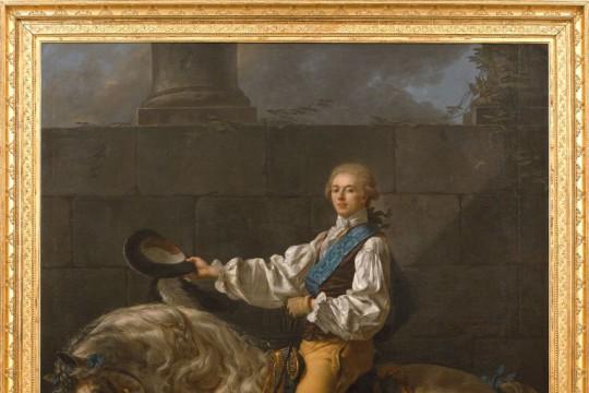 Portret Stanisława Kostki Potockiego na koniu