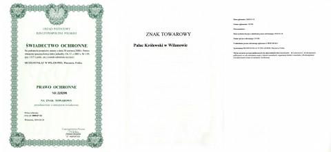 Zastrzeżony znak towarowy_Pałac Królewski w Wilanowie.jpg