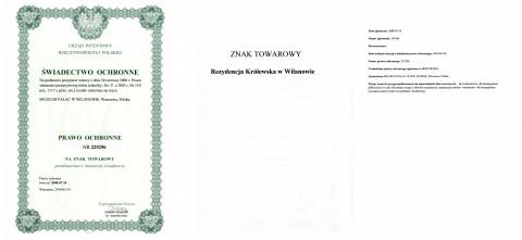 zastrzeżony znak towarowy_Rezydencja Królewska w Wilanowie.jpg