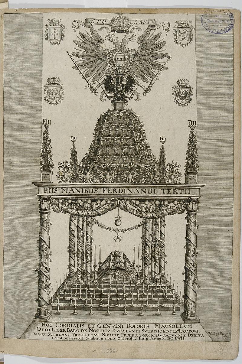 Katafalk cesarza Ferdynanda III_mdzrt z BN_po1657.jpg