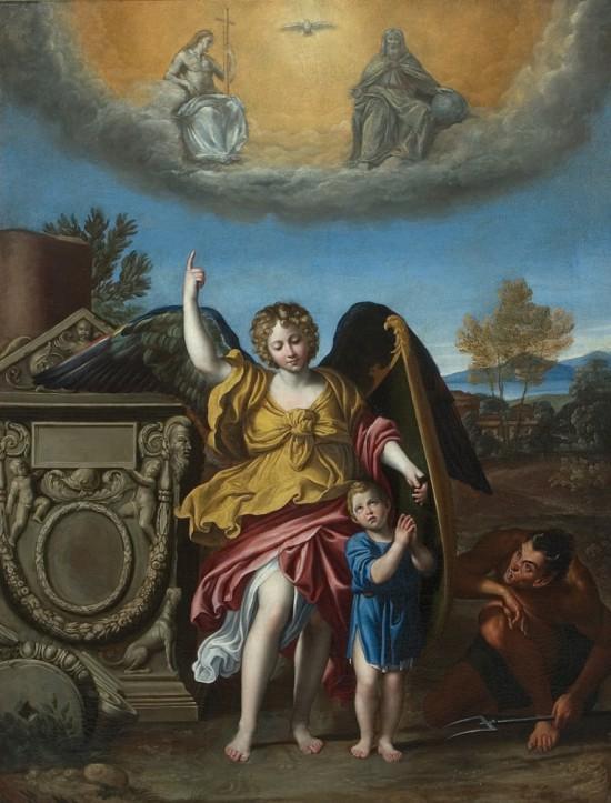 Domenico Zampieri,  Anioł Stróż_1