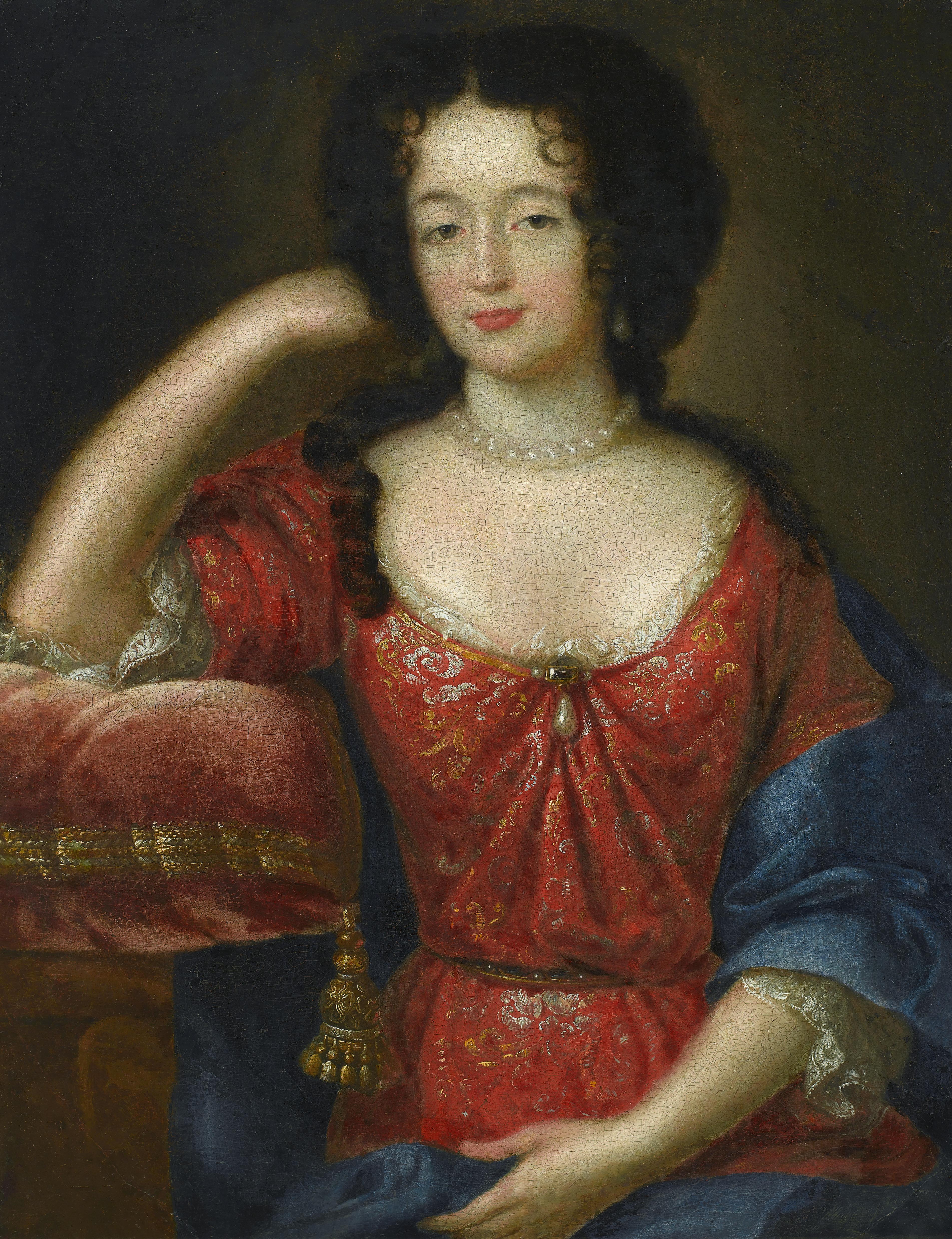 Maria Kazimiera, malarz francuski, XVII w.DUŻY.jpg