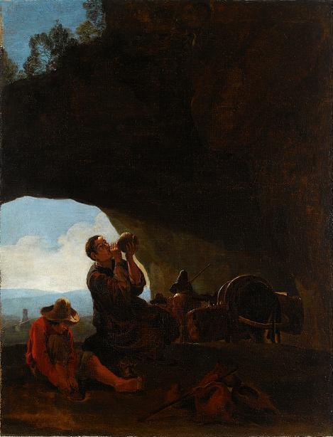 Odpoczynek wędrowców, Pieter van Laer, XVII w.jpg