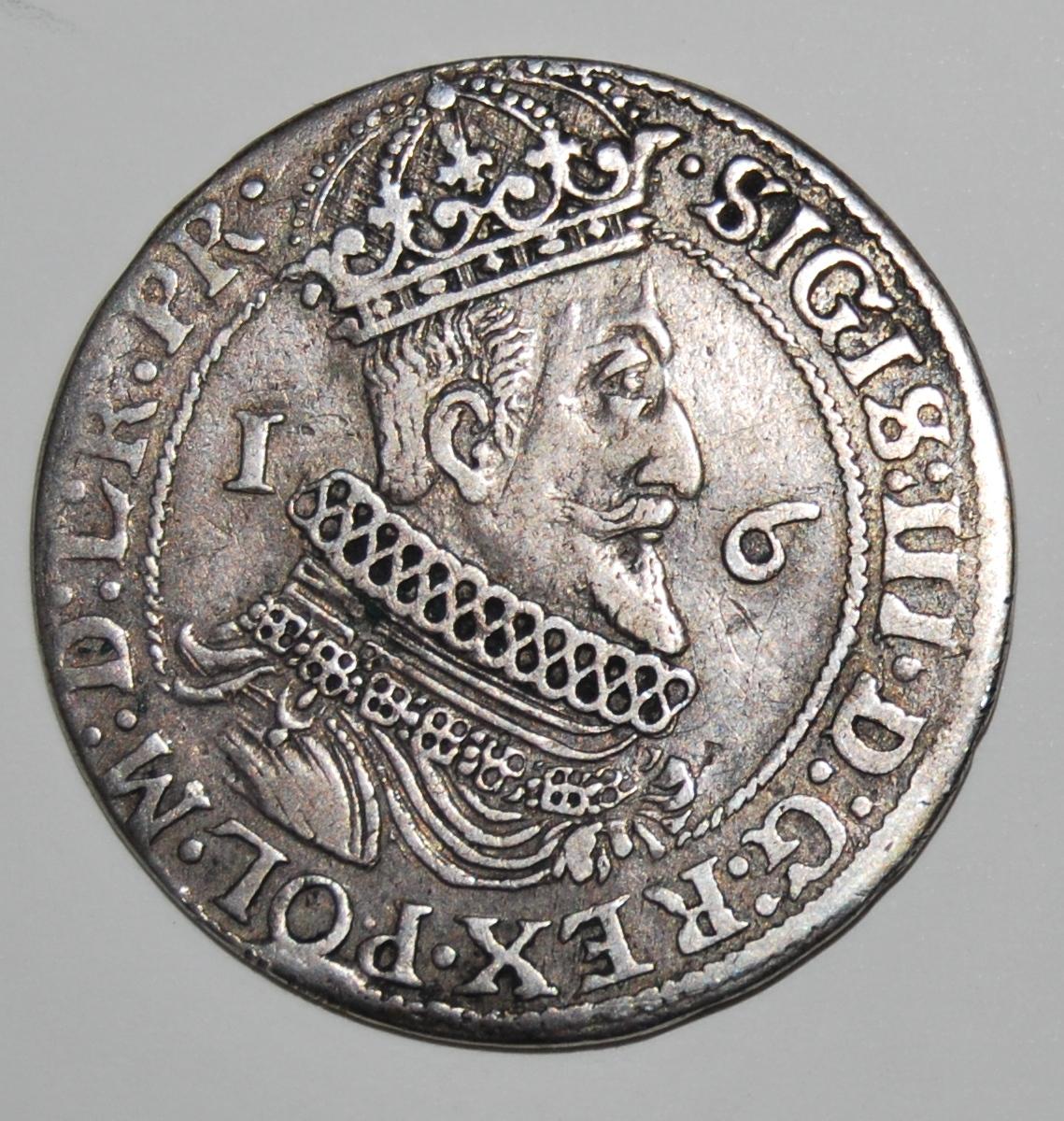 Moneta gdańska z wizerunkiem Zygmunta III_fot W.Kalwat.JPG