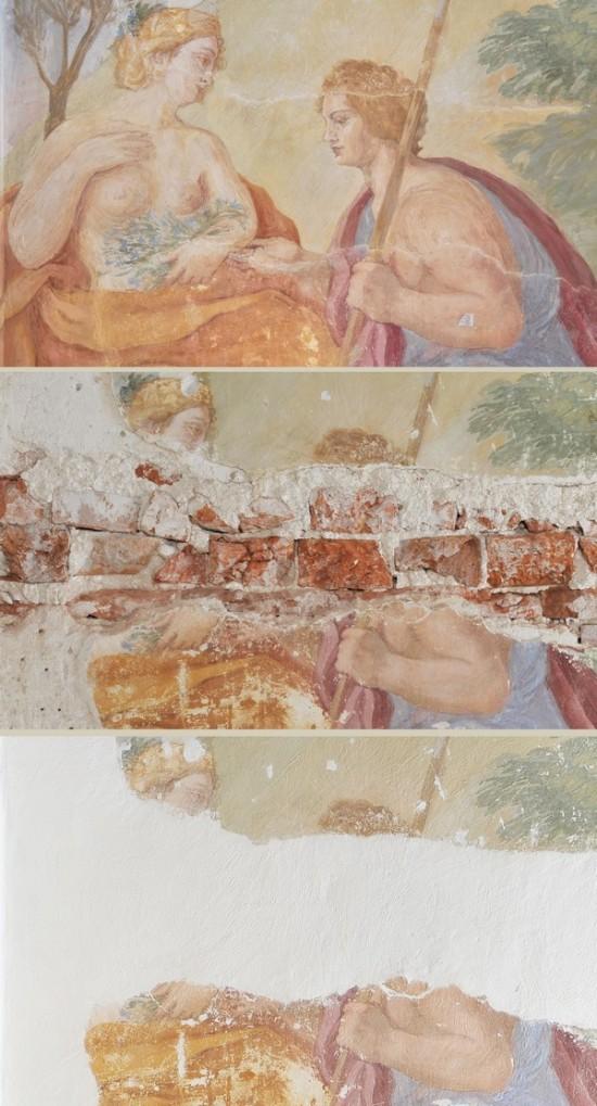 konserwacja_gabinet_al_fresco_palloni_fresk_Apollo i Issa fot_M_Baran_J_Andrzejewski.jpg