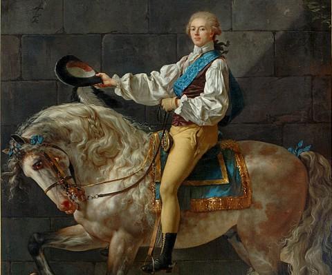 Portret konny Stanisława Kostki Potckiego