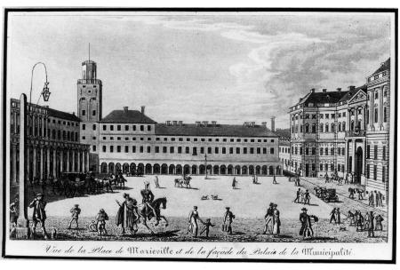 Widok Marywilu w Warszawie