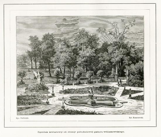 1_rycina z widokiem ogrodu różanego k. XIX w.jpg