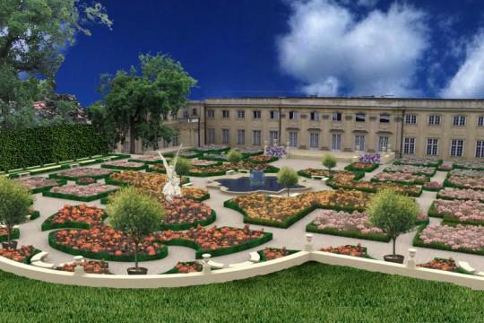 4_wizualizacja ogrodu różanego autorstwa Autorskiej Pracowni Projektowej Jerzy Wowczak z Krakowa.jpg