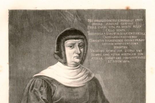 Teofila Sobieska, matka króla