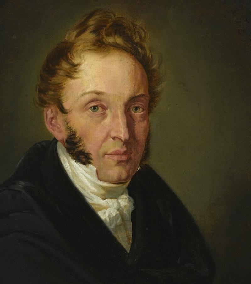 A.Kokular, Autoportret, ok. 1831, fragment, zbiory Muzeum Narodowego w Warszawie, fot. Z. Reszka