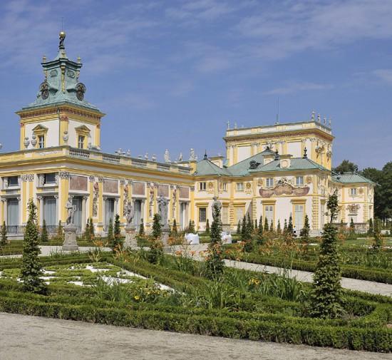 Pałac od strony ogrodu, fot. M. Kulpa