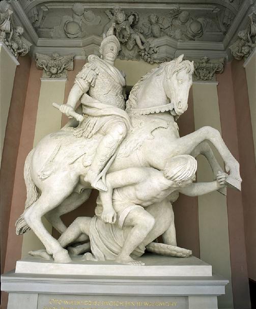Pomnik konny Jana III Sobieskiego, fot. Z. Reszka
