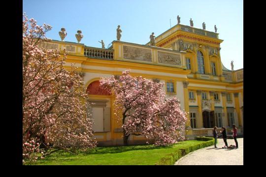 Wiosna w ogrodach wilanowskich, fot. J. Dobrzańska09.JPG