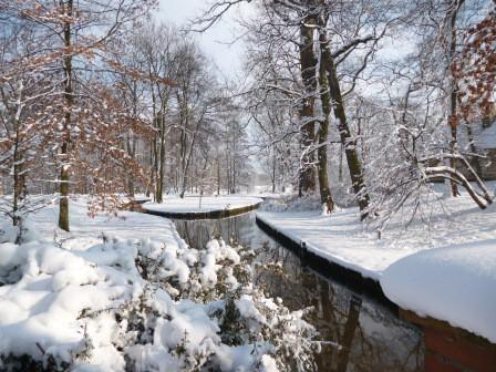 Zima w ogrodach wilanowskich, fot. J. Dobrzańska3.JPG