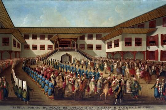 O strojach uczestników ostatniego polskiego poselstwa w Stambule w 1790 roku