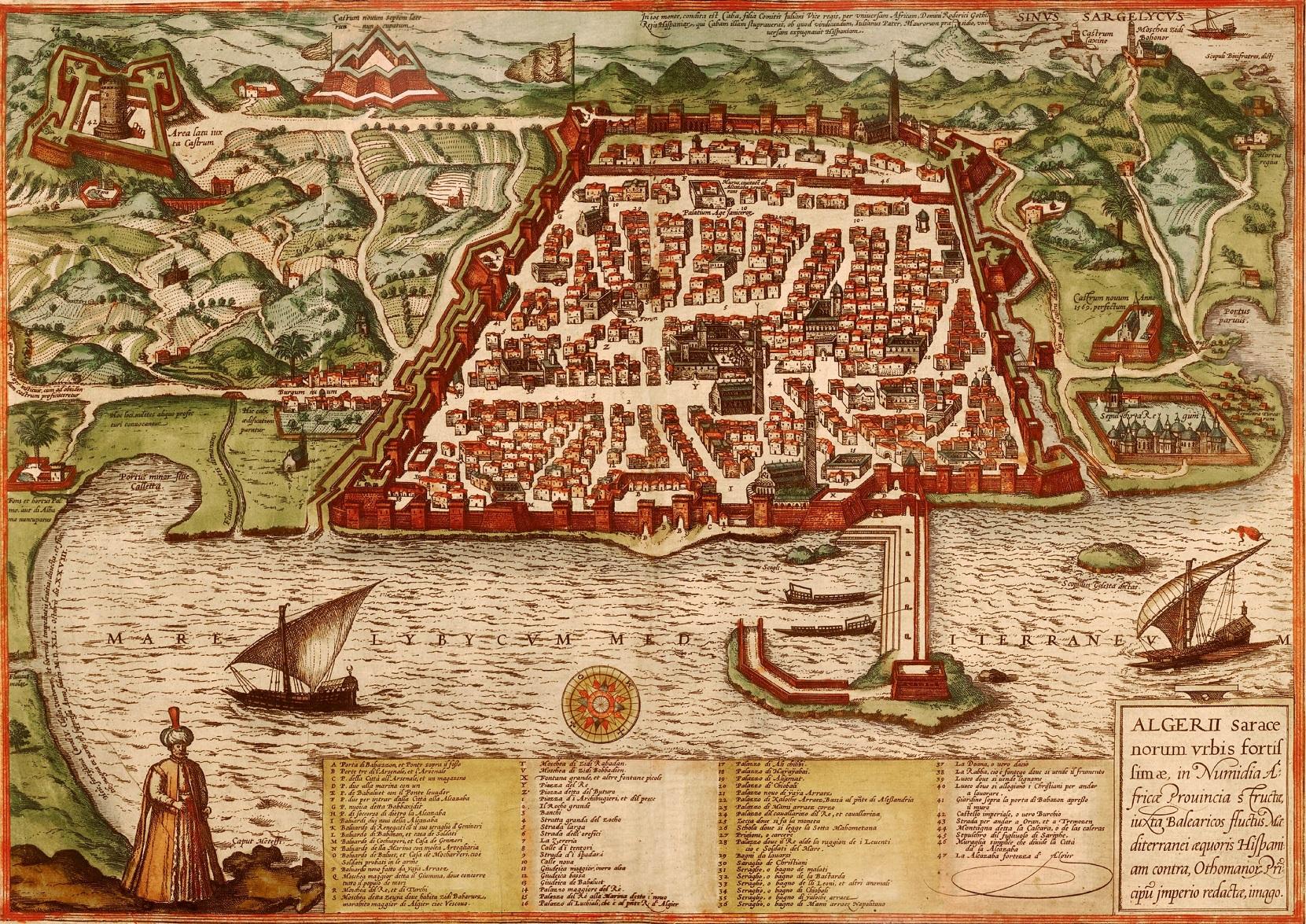 Algier, jedna z głównych baz floty ottomańskiej.jpg