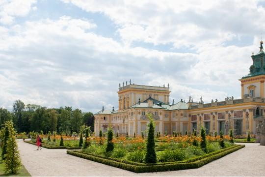 Ogród włoski i północna strona pałacu w Wilanowie, fot. W. Holnicki.jpg