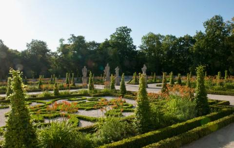 Ogród włoski na tarasie górnym, fot. W. Holnicki.jpg