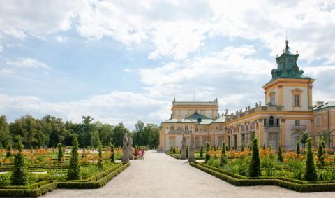 Pałac w Wilanowie od strony ogrodu, fot. W. Holnicki.jpg