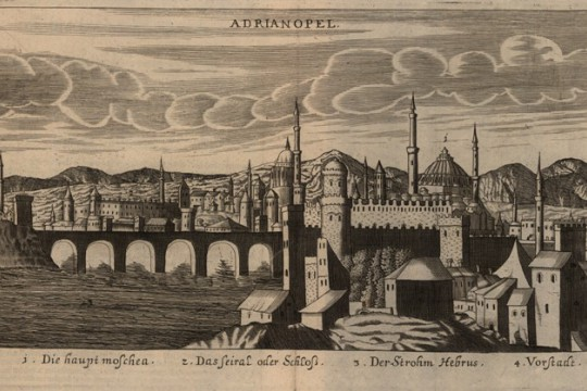 Droga posła Hieronima Radziejowskiego na dwór sułtana Mehmeda IV