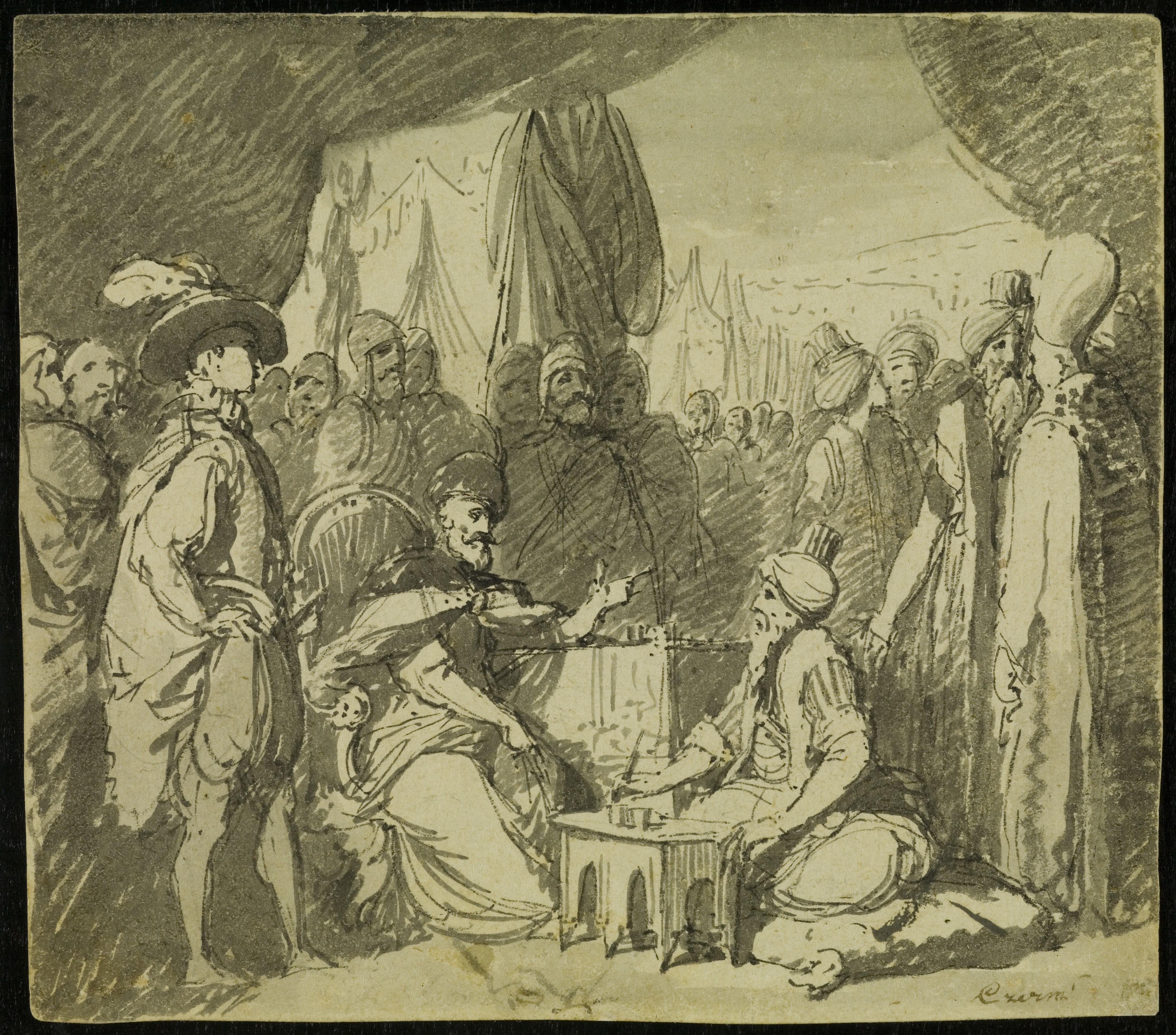 rokowania pod Chocimiem rys Franciszek Smuglewicz post 1785 BN.jpg