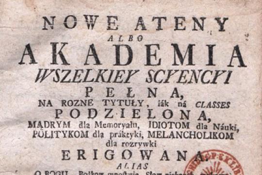 Benedykt Chmielowski on the Culture of the Turks