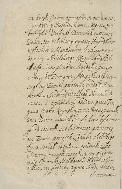 Miron Kostyn Chronika... ante 1691 BN dedykacja 2.jpg