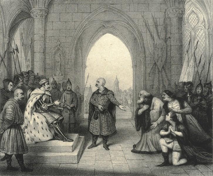 Bolesław Śmiały, Bela i Izjasław, ca 1836, BN.jpg