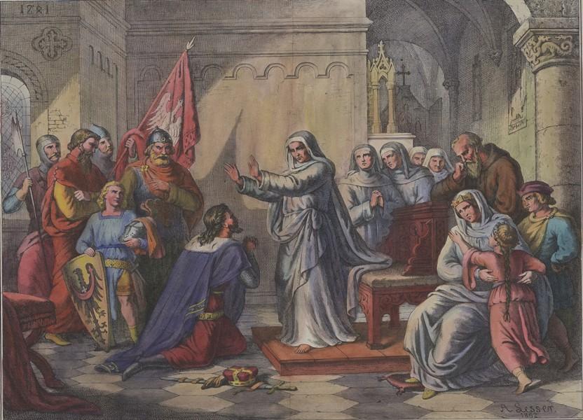 Jadwiga Śląska i Henryk Pobożny, 1862, BN.jpg