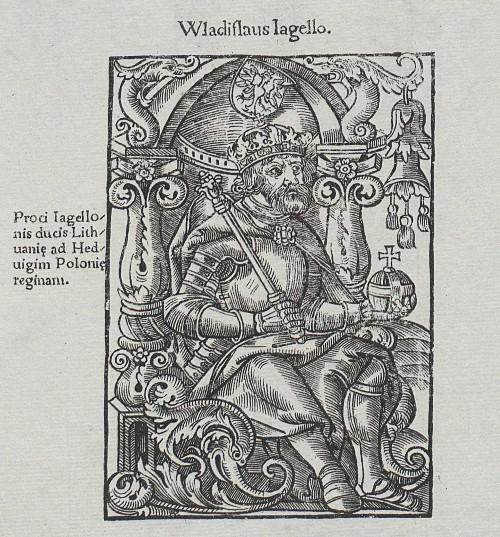 Władysław Jagiełło drzeworyt 1521, 1900 BN.jpg