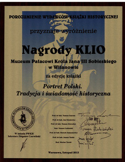 Nagroda Klio 2013 Portret polski.jpg