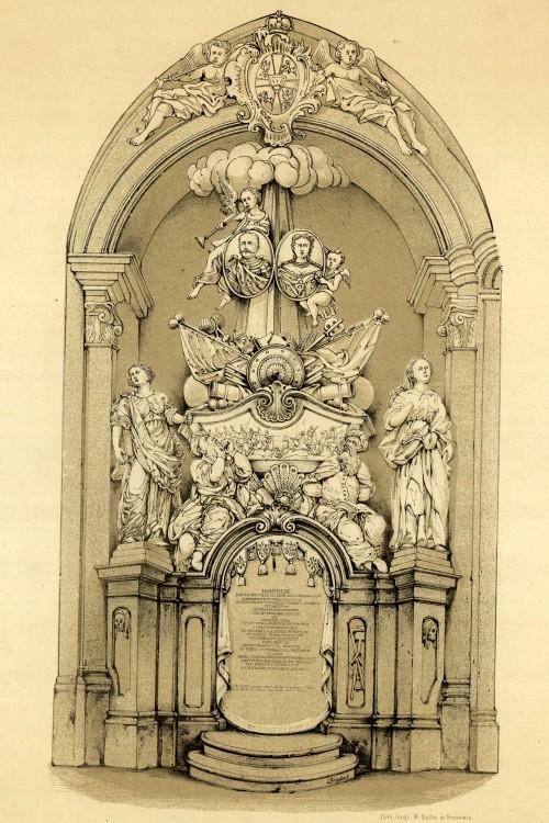 nagrobek Jana III Wawel J. Brydak litogr BN.jpg