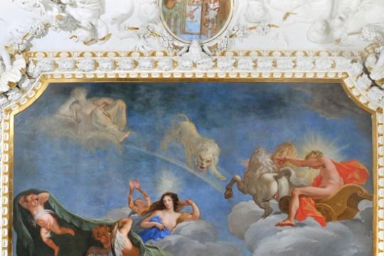 Plafon 'Lato' w Sypialni Króla, mal. Jerzy Szymonowicz-Siemiginowski, ok. 1689,  fot. Z. Reszka.jpg