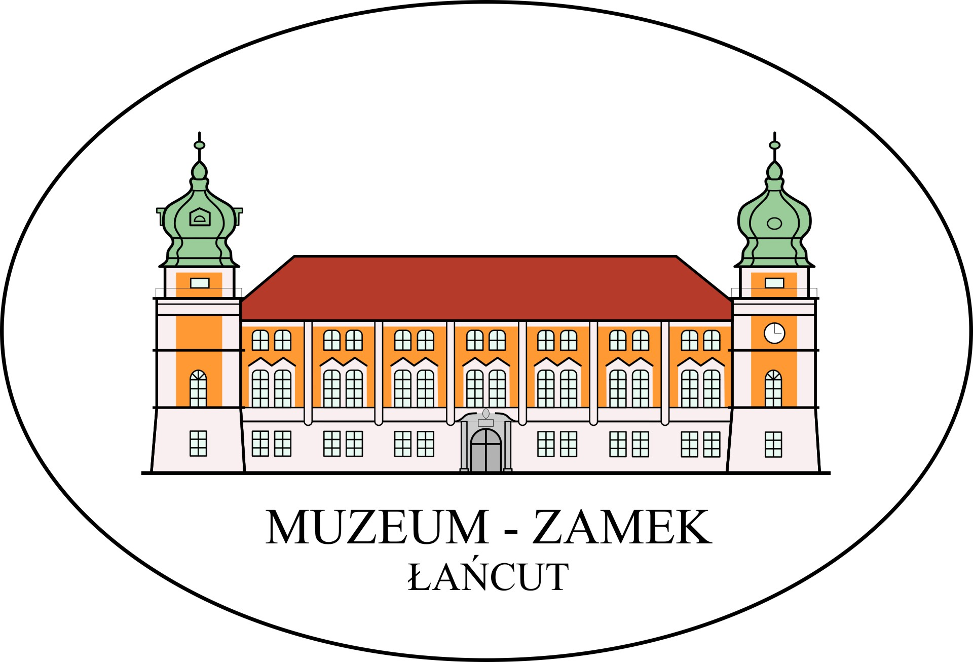 Logo Muzeum - Zamek w Łańcucie