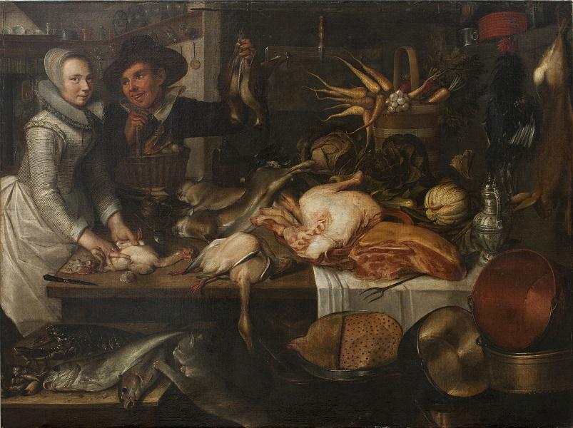 Jakob Matham, Wnętrze kuchni, 1625.jpg