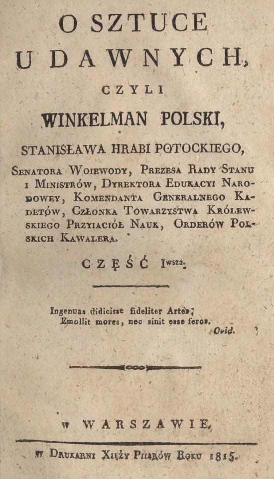 O sztuce u dawnych 1815_str_tyt.jpg