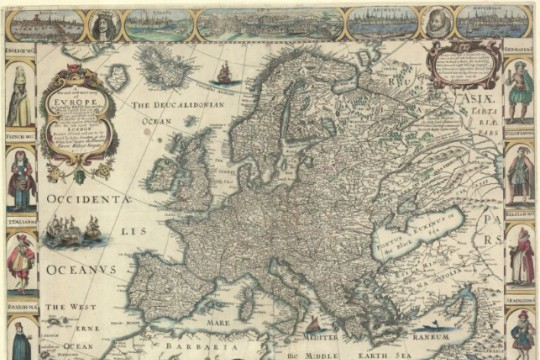 Eurocentric and Christian Model of the World in the Polish–Lithuanian Commonwealth