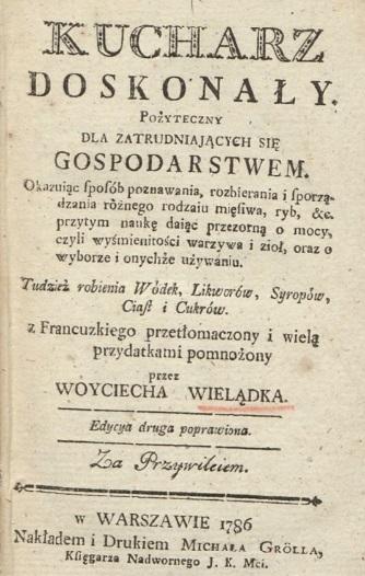 """Wojciech Wielądko, """"Kucharz doskonały"""