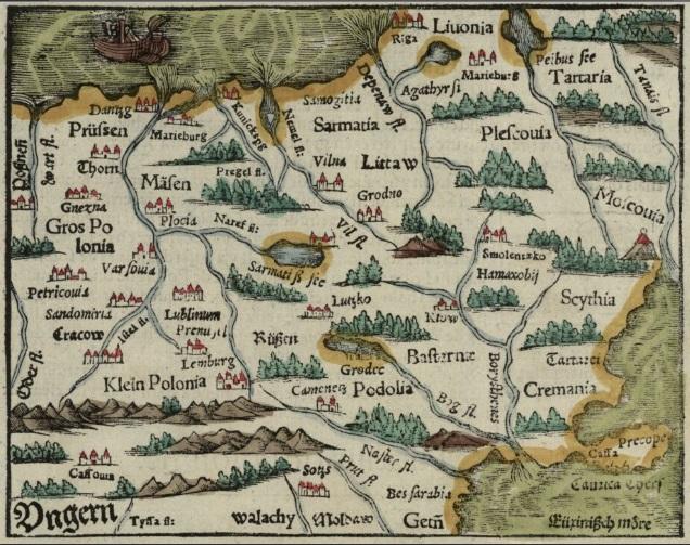 Sarmacja, 1552-1568; zbiory Biblioteki Narodowej