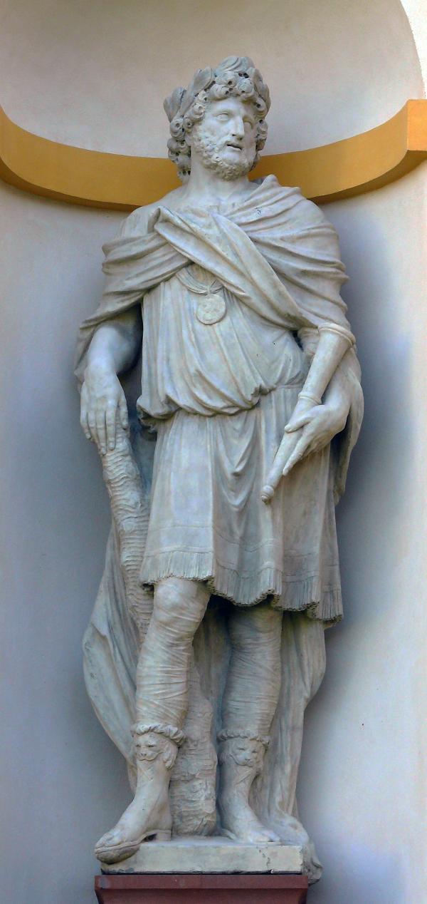 Splendor nomini - personifikacje czterech pojęć Honos, Magnanimitas, Splendor nominis i ValorFortitudo.JPG