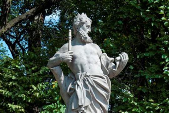 Posąg Jowisza z Dolnego Tarasu Ogrodu Wschodniego, warsztat śląski, 1729 -1734, nr inw. RzA.27, fot. W. Holnicki.jpg