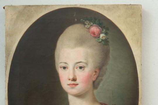 Sanguszkowa z Potockich Cecylia, nieznany malarz polski, XIX w., nr inw. Wil.1431, fot. Z. Reszka